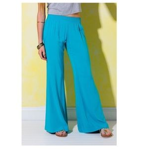 South moon under coral Abbeline palazzo pants